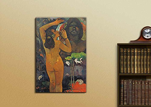 The Moon and The Earth by Paul Gauguin Print Famous Painting Reproduction