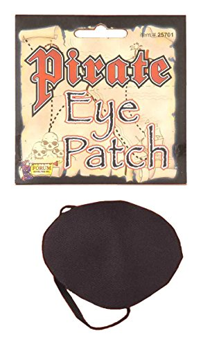 Eye Patch Pirate Costume (Deluxe Pirate Eyepatch Costume Accesory)