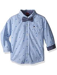 Baby Boys' Hilfiger Yarn Dyed Stripe Shirt