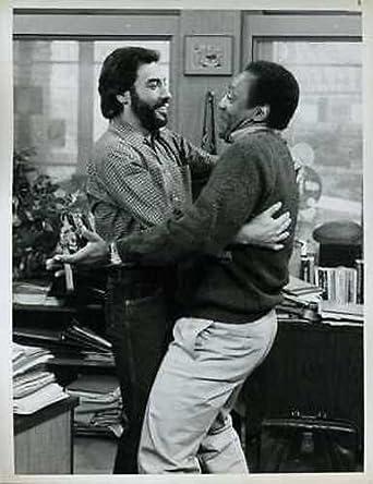Tony Orlando Bill Cosby The Cosby Show Original 7x9 Photo J5347 At