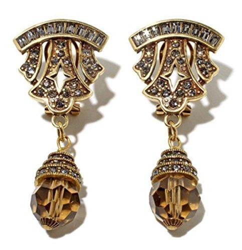 Deco Style Clip Earrings - 1