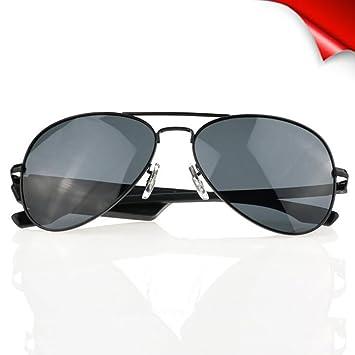 Z&HA Gafas De Sol Polarizadas Bluetooth, Música Estéreo, Lentes UV, Auriculares con Cancelación