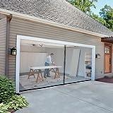 garage door screen 8 ft x 7 ft single garage