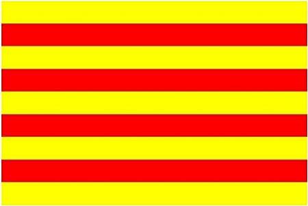 Cataluña de la bandera de (España) 152,4 cm x 91,44 cm: Amazon.es: Hogar