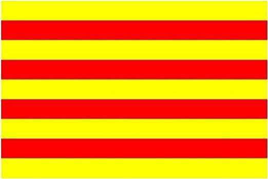 Cataluña de la bandera de (España) 152,4 cm x 91,44 cm: Amazon ...