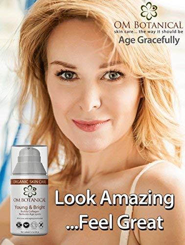 ORGANIC MOISTURIZER & Dark Corrector Bright All-in wrinkle Cream, Age/Sun Spot Remover Pigmentation with Natural Sunscreen