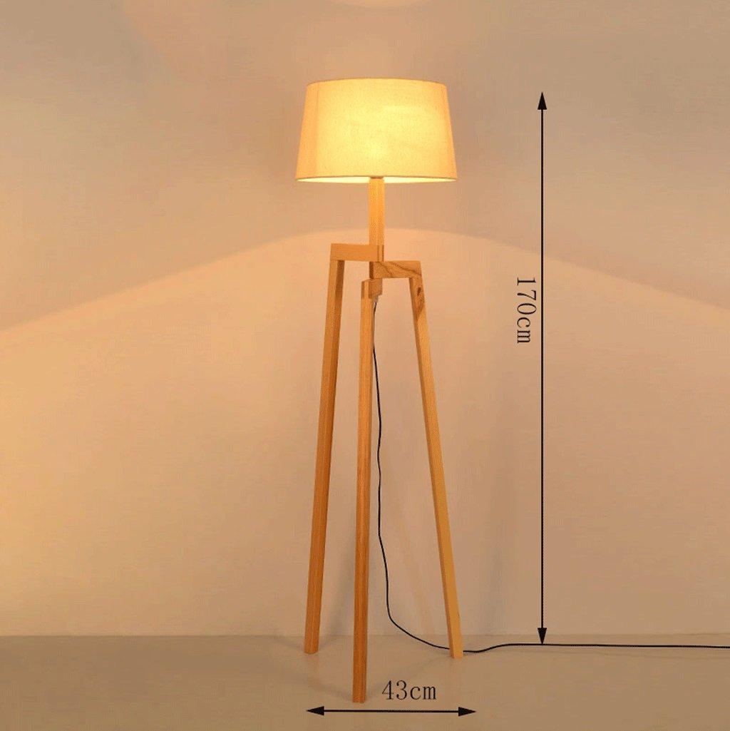 Dgf Holz Stehlampe Wohnzimmer Schlafzimmer Studie Stehleuchte