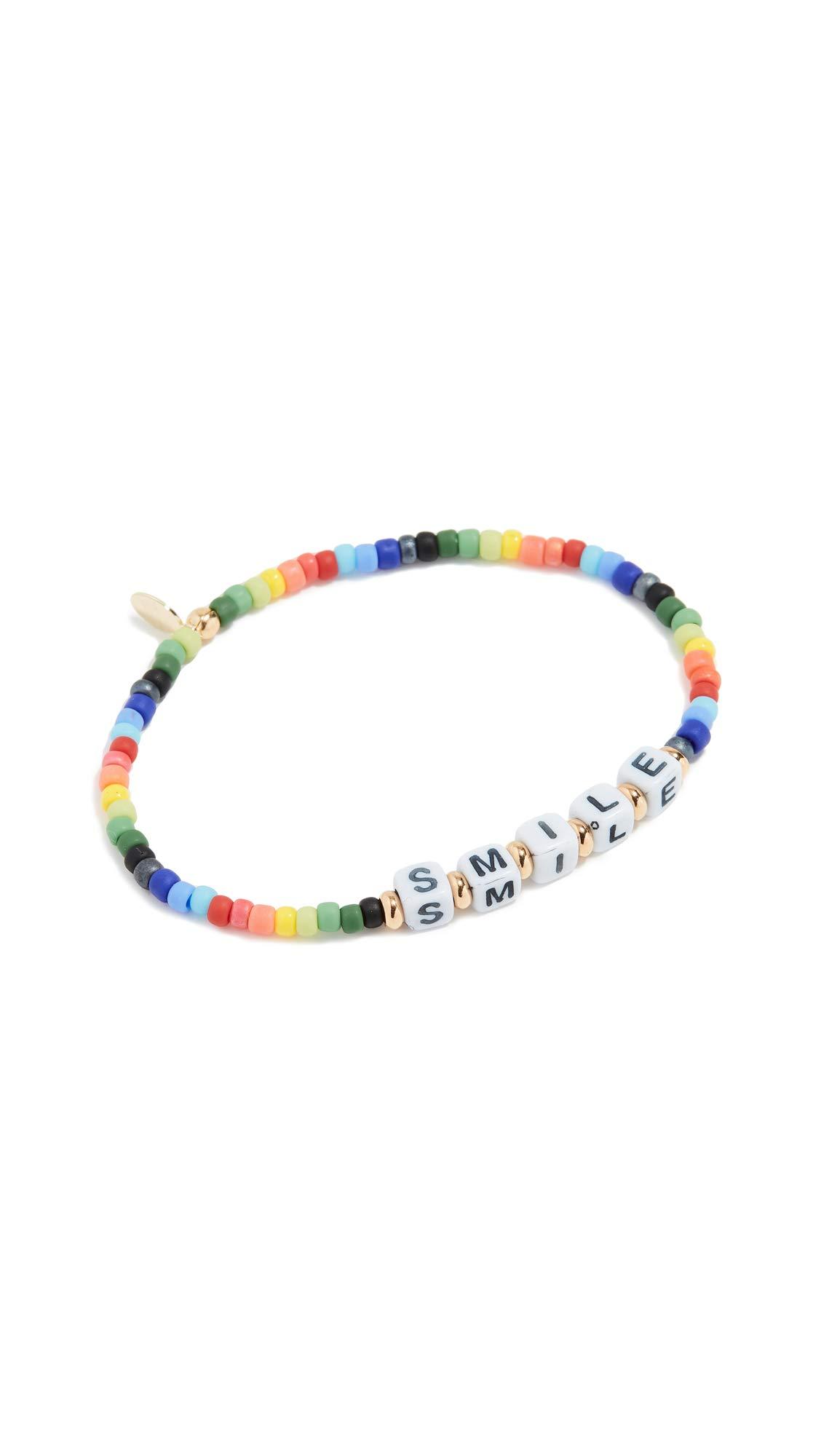 SHASHI Women's Smile Bracelet Rainbow, Multi, One Size