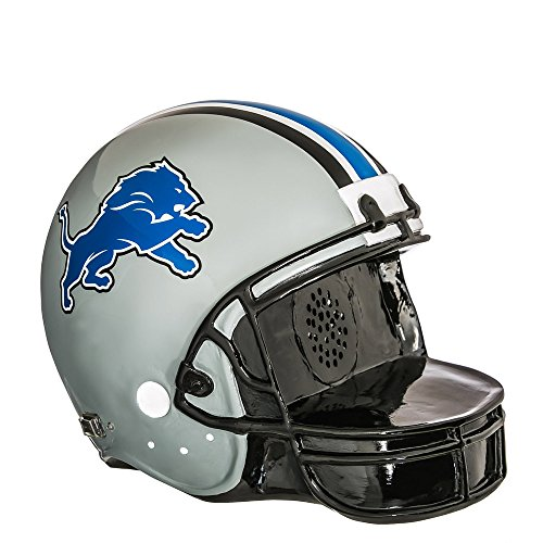 Team Sports America Detroit Lions Helmet Bluetooth Speaker