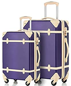 6 Vintage Inspired Luggage Sets for the Modern Woman - Travel Bag ...
