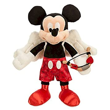 disney mickey mouse cupid plush valentines day small