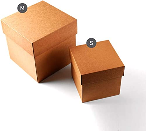 Selfpackaging Caja de cartón para envíos con Tapa. Resistente y Bonita a la Vez - Pack de 25 Unidades - M: Amazon.es: Hogar