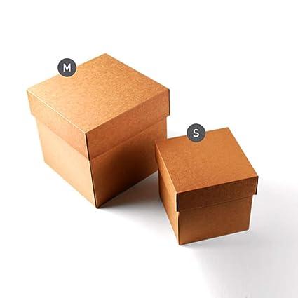 Selfpackaging Caja de cartón para envíos con Tapa. Resistente y Bonita a la Vez -
