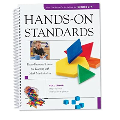 Learning Resources Hands-On Standards: Photo-Illustrated Lessons for Teaching with Math Manipulatives, Grades 3-4: Office Products