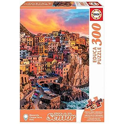 Educa Borras 300 Manarola Cinque Terre Italie Puzzle Colore Vario 17980