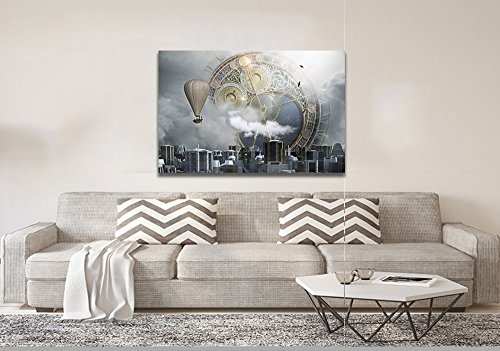 Quadro Decorativo Em Canvas Balão Da Bussola Magica