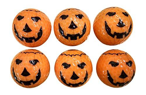 Halloween Pumpkin Golf Balls (6 Pack) (Pumpkin Ball)