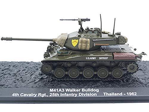- ALTAYA M41 A3 Walker Bulldog Light Tank 1962 Year 1/72 Scale Collectible Diecast Model