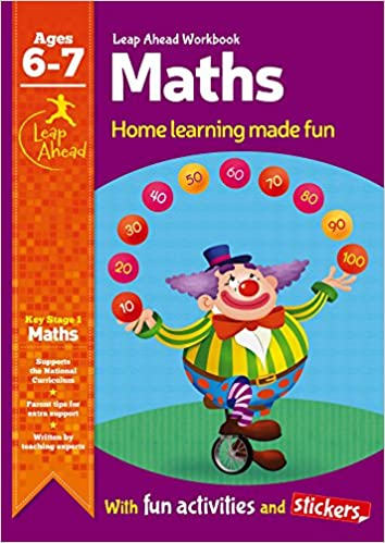 Buy Math Age 6-7 (Leap Ahead Work Books) Book Online at Low Prices ...
