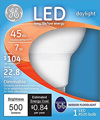 GE Lighting Energy-Smart LED 7-watt, 470-Lumen R20 Bulb with Medium Base