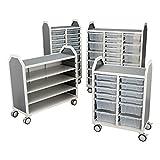 Learniture Profile Series Mobile Storage Cart
