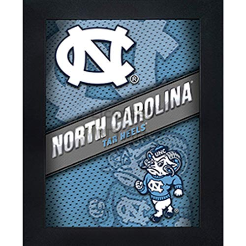 North Carolina Tar Heels 3D Poster Wall Art Decor Framed Print | 14.5x18.5 | NC Lenticular Posters & Pictures | Gifts for Guys & Girls College Dorm Room | NCAA ()