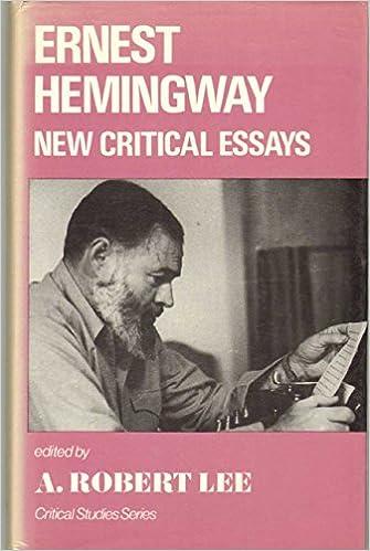 Ernest Hemingway critical essay