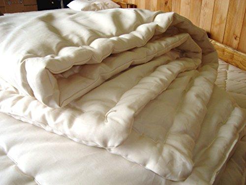Holy Lamb Organics Wool Comfortor (Twin Comforter - Perfect (Natura Organic Comforter)