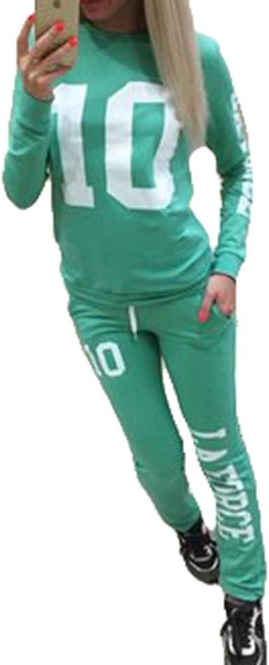 Chandal Mujer Ropa Deportiva Suave - Cómodo Trajes Yoga ...