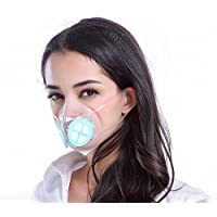 TOTOBOBO Petite Anti Pollution Mask/Washable and Reusable Respirator/Air Pollution/Allergies / Viruses/Bacteria / Dust/Cycling / Motorcycle/Running / Travel