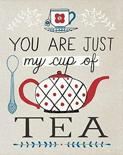 Cup of Tea Poster Print by Oliver Towne (11 x 14)