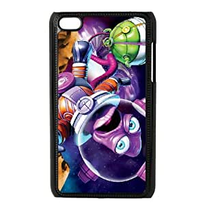 iPod Touch 4 Case Black Shiftlings 002 Qfito