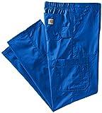 Carhartt Men's Tall Ripstop Multi-Cargo Scrub Pant, Royal, Large/Tall
