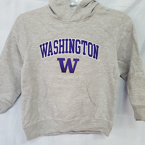 New! With Out Tags Washington Huskies Embroidered Hoodie Boys S (6-7) ()