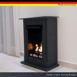 gel ethanol fire places madrid deluxe granite dark home kitchen. Black Bedroom Furniture Sets. Home Design Ideas