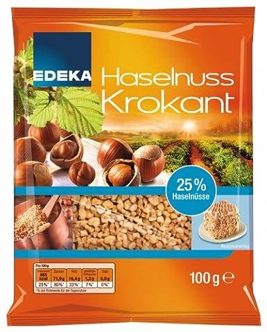 Edeka Haselnuss Krokant 100g: Amazon.de: Lebensmittel & Getränke