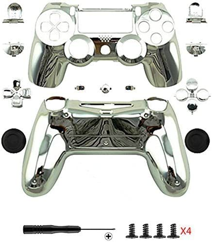 Canamite® - Funda cromada para mando de PS4 Playstation 4 Dualshock, PS4, plata: Amazon.es: Deportes y aire libre