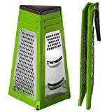 Wonder Worker Skill Foldable Cheese Vegetables Grater Stainless Steel 14X20.5cm