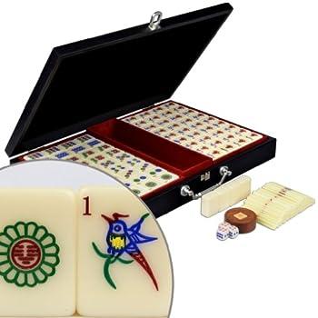 Amazon Com Traditional Chinese Version Mahjong Game Set
