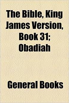 Book The Bible, King James Version, Book 31: Obadiah