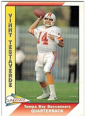 696d82c9b 1991 Pacific with Update Tampa Bay Buccaneers Team Set with Vinny Testaverde  & Reggie Cobb - 27 NFL Cards