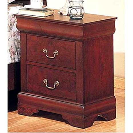 cherry color night stand