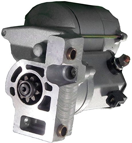 Gladiator New Starter for Isuzu Rodeo, Amigo 3.2-3.5L Replaces: 187-0537 4N6639 91-29-5296N 128000-9700 128000-9701 128000-9702 8-94384-314-0 8-94384-314-1 ()