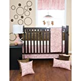 4 Pc Set (Includes quilt, bumper, fitted sheet, crib skirt)