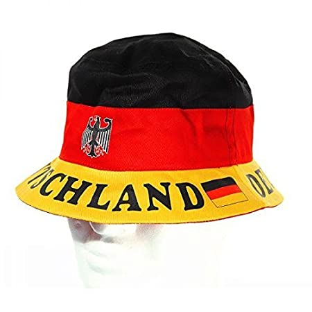7a713cca819 Bucket Hat Germany Black   Red   Yellow  Amazon.co.uk  Kitchen   Home