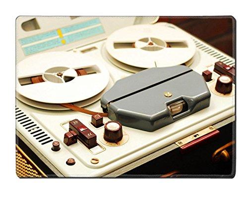 Luxlady Placemat reel to reel tape recorder IMAGE 24178478 C