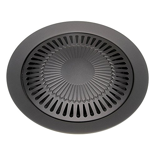 CHYIR Korean Style Non-stick Smokeless Indoor Barbecue Pan Grill Stovetop Plate by CHYIR