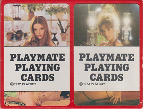 (Playboy Playmate Playing Cards: 1972 & 1973: Two Deck Set)