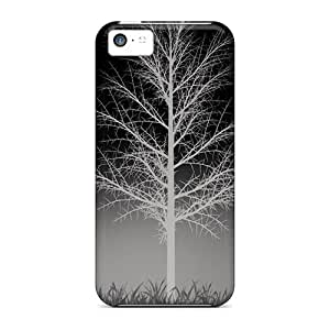 Fashionable Style Case Cover Skin For Iphone 5c- Winter Dark