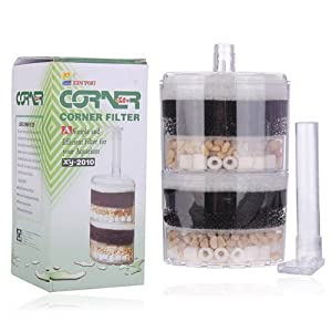 Water & Wood New Underwater Air Driven Corner Filter
